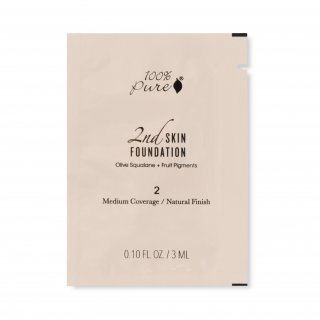 Fruit Pigmented® 2nd Skin Foundation Sample Sachet - Shade 2