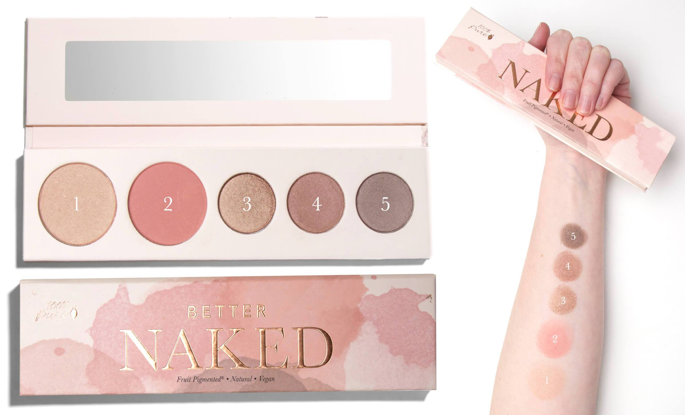 100 Percent Pure Naturkosmetik Palette Better Naked