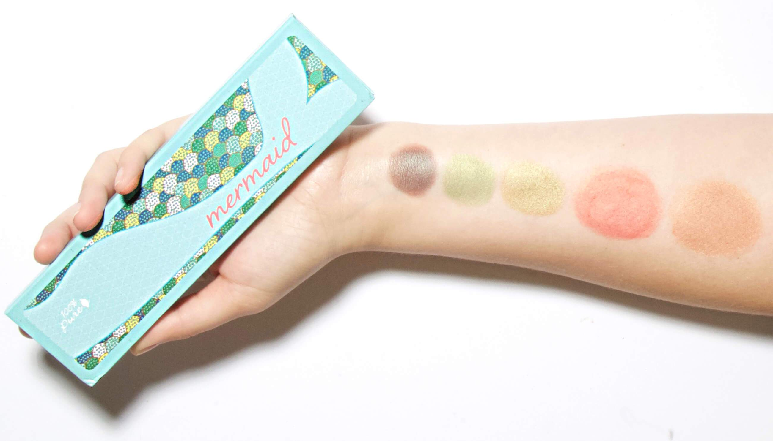 100 Percent Pure Naturkosmetik Palette Mermaid