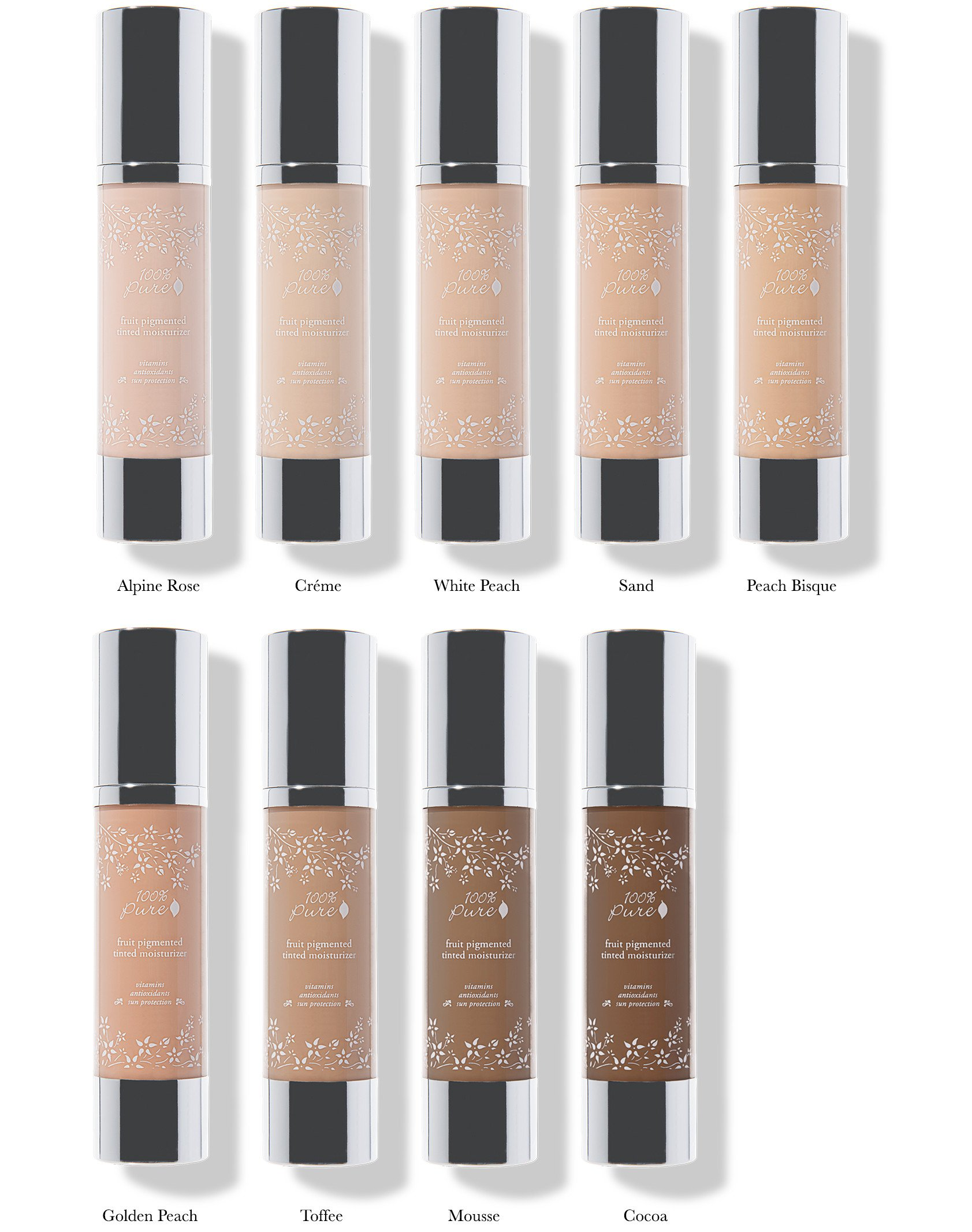 100% Pure Naturkosmetik Foundation / Fruit Pigmented Tinted Moisturizer